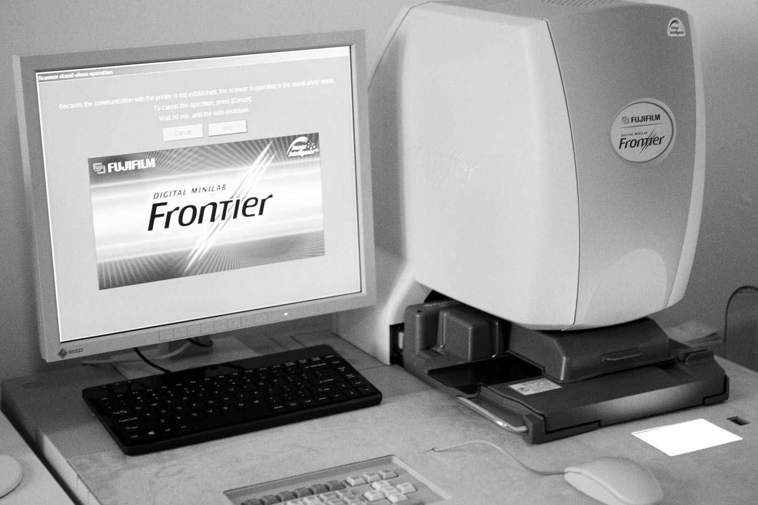 Scanner frontier sp 3000 Lumina film lab laboratorio italiano