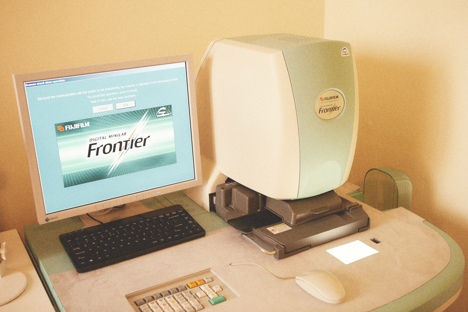 Scanner frontier sp 3000 Lumina film scansione archivi fotografici